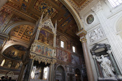 St. John Lateran in Rome Stock Photography