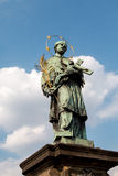St John Nepomuk Obraz Royalty Free