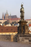 St. John of Nepomuk In Prague Royalty Free Stock Images