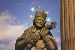 St. John of Nepomuk statue Stock Images