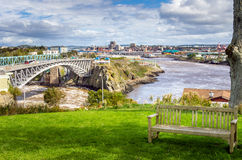 St John New Brunswick royaltyfri foto