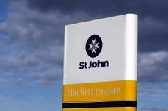 St John - Nueva Zelanda Imagen de archivo
