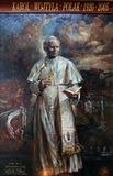 St. John Paul II. By Natalia Tsarkova in Church of Santa Maria del Popolo, Rome, Italy Stock Photos