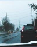 St John & x27; ponte di s dalla strada a Portland immagine stock