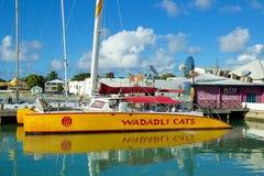 St John port, Antigua Royaltyfri Bild