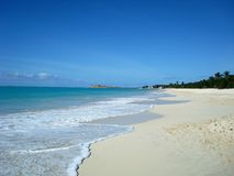 ST John ` s, Αντίγκουα και Μπαρμπούντα, μια χώρα που βρίσκεται στις Δυτικές Ινδίες στην καραϊβική θάλασσα Στοκ Εικόνα