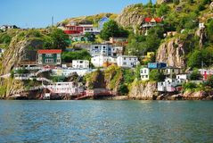 St. John's. In Newfoundland Canada Royalty Free Stock Photography