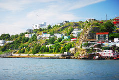 St. John's. In Newfoundland Canada stock images