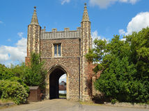 St John's Abbey Gate Colchester Stock Photography