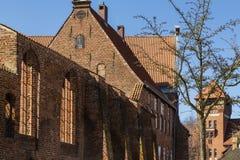 St. John`s Abbey or Johanniskloster, Stralsund Germany royalty free stock photography