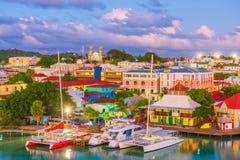 St John ` s, Antigua Arkivbilder