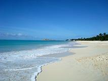 St John ` s, Antigua i Barbuda, kraj lokalizować w Zachodnich Indies w morzu karaibskim Obraz Stock