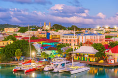 St. John`s, Antigua stock images