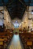 St. John's Cathedral in Hong Kong Stock Image