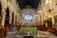 St. John's Cathedral in Hong Kong Royalty Free Stock Photo