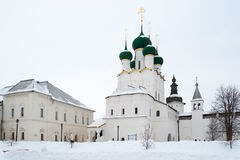 St. John`s Cathedral in Kremlin. Russia. Wintertime. Stock Photos