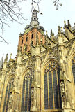 St. John's Cathedral at 's-Hertogenbosch, Netherlands Royalty Free Stock Image