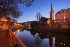 St john`s church in Bath. Royalty Free Stock Photography
