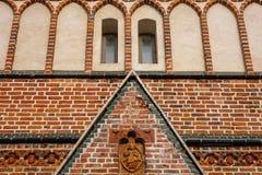 St. John's Church. Facade of St. John's Church, Tartu, Estonia Royalty Free Stock Photos