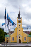 St. John's Church.Freedom Square. Tallinn, Stock Photos