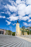 St. John's Church on Freedom square of Tallinn, Estonia Royalty Free Stock Images