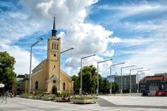 St. John's Church, large Lutheran parish church in Tallinn, Esto Royalty Free Stock Image