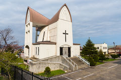 St. John's Church at Motomachi in Hakodate Royalty Free Stock Photo
