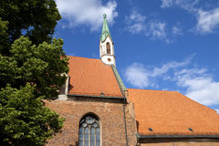 St. John's Church in Riga Royalty Free Stock Image