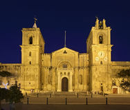 St. John's Co-Cathedral in Valletta. Malta.  Royalty Free Stock Photos