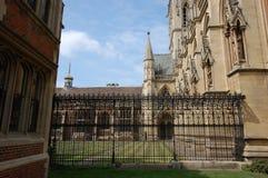 St John's college Cambridge. Architectural details of Saint John's college Cambridge Stock Photos