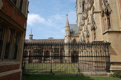 St John's college Cambridge Stock Photos
