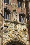 St. John's College Cambridge. The impressively sculptured gatehouse at St John's College in Cambridge, UK Stock Photography