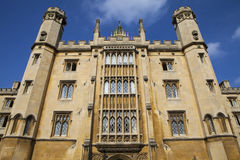 St. John's College in Cambridge. The magnificent architecture of St. John's College in Cambridge, UK Stock Photography