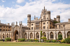 St John's College in Cambridge Royalty Free Stock Images
