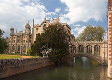 St John's College. Cambridge. UK. Stock Image