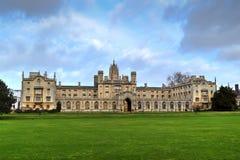 St. John's College. Cambridge University Royalty Free Stock Images