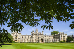 St. John's College in Cambridge. A view of the historic St. John's College in Cambridge, UK Stock Photography