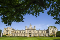 St. John's College in Cambridge. A view of the historic St. John's College in Cambridge, UK Stock Image