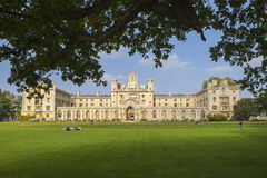 St. John's College in Cambridge. A view of the stunning St. John's College in Cambridge, UK Stock Images