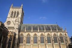 St. John's College Chapel in Cambridge Stock Image