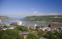 St. John's Harbour, Newfoundland Royalty Free Stock Photos