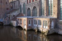 St. John's Hospital in Bruges Stock Image