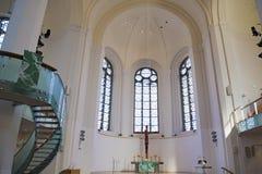 St John ` s Kerk, Protestantse Kerk, Dusseldorf, Duitsland Royalty-vrije Stock Foto's