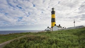 St John`s Point Lighthouse. county Down. Northern Ireland. stock photos