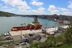 St John's port Royalty Free Stock Images