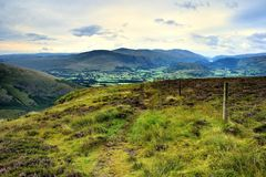 St John`s in the Vale. From the Cumbrian Way Stock Photo