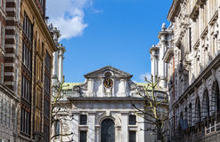 St John, Smith Square (conçu par Thomas Archer, 1728) est un f Image stock