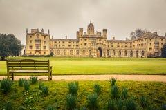 St John szkoła wyższa, Cambridge Obrazy Stock