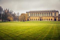 St John szkoła wyższa, Cambridge Zdjęcie Stock