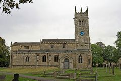 Free St John The Baptists`s Church 4, Wadworth, Doncaster, South Yorkshire. Royalty Free Stock Images - 126870119